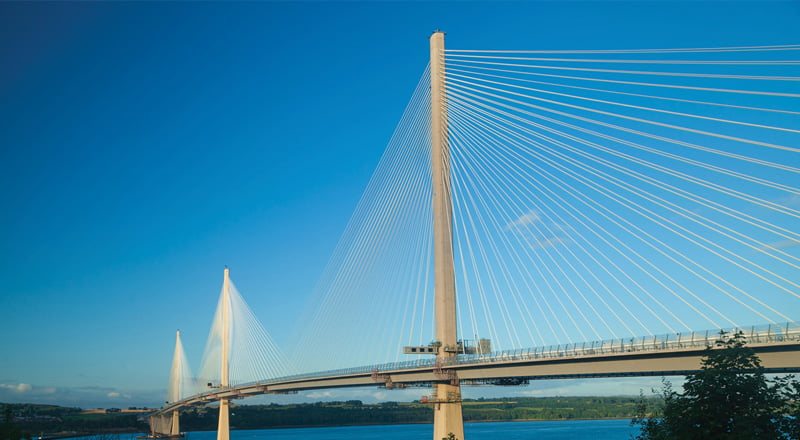 Dufaylite supply Clayboard for Queensferry Crossing