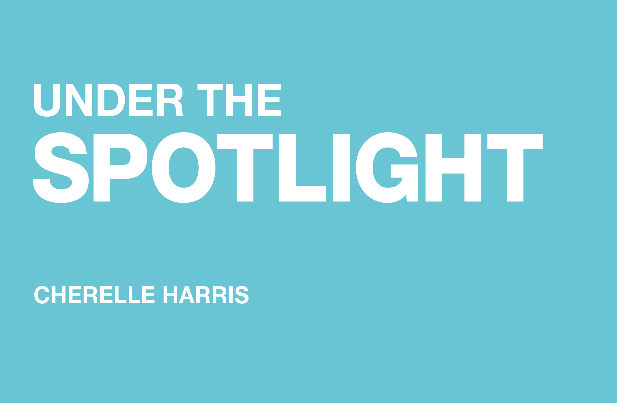 Internal Sales Manager, Cherelle Harris from Dufaylite is under the spot light